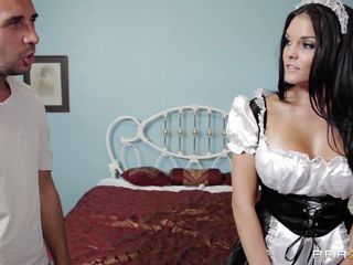 lustful big boobs maid